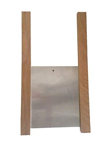 ChickenGuard ® Gallinero Pop Kit de Puerta - Roble corredores y panel de la puerta de aluminio