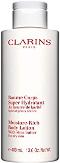 Clarins Moisture-Rich Body Lotion with Shea Butter, 400 ml