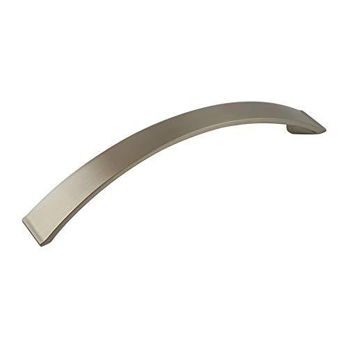 ODESSA Stangengriff Möbelgriff Schlafzimmer Schranktür Küchenschrank Bogen Bügelgriff Edelstahl. VA9 Serie: -128 mm BA