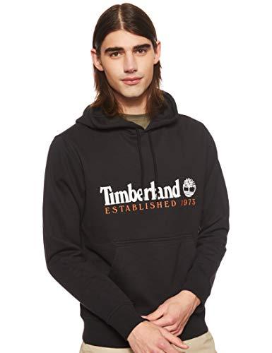 Timberland Herren Kapuzenpullover Core Established Hoodie A1Y2D Black L