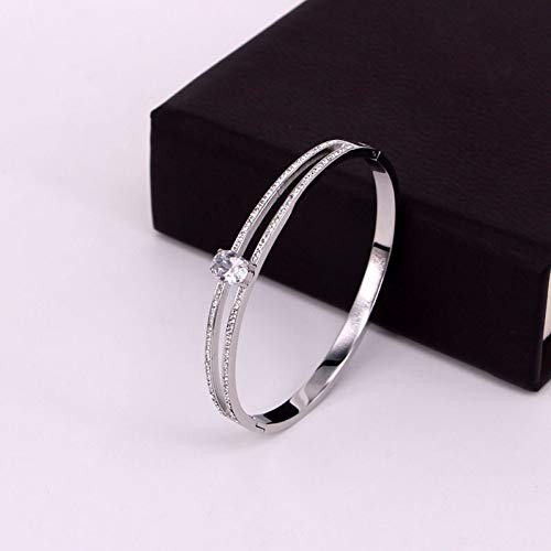iceBoo Fashion oval crystal hollow crystal bracelet suitable for women bracelet gift jewelry