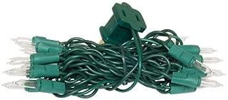 DecoLights Light Set - 35 Clear Bulbs - Green Cord