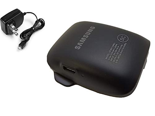 Original Samsung Gear S Charger Cradle Charging Dock EP-BR750BBU - Made in Korea - with Wall Charger MKK Stylus Pen