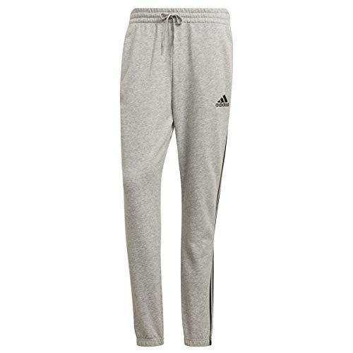 adidas M 3s Ft Te PT Pantalones de compresin, Medium Grey Heather/Black, XL para Hombre