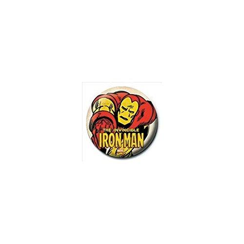 Pyramid Iron Man - Invincible (Pin Badge...