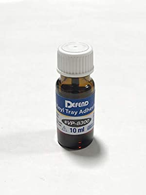 DEFEND- Vinyl Tray Adhesive 1oz Bottle with applicator Mfg # 113625 Us Depot
