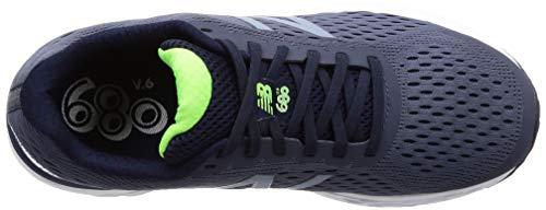 New Balance Men's 680 V6 Running Shoe, Pigment/RGB Green, 11 4E US 9