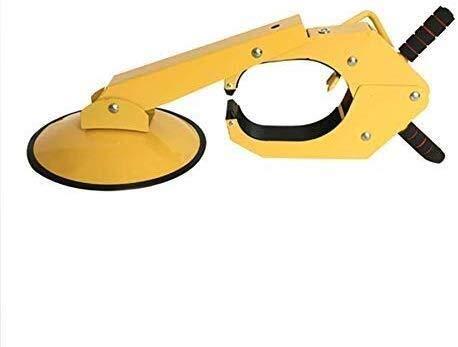 Automotriz cepo for trabajo pesado de neumáticos bloqueo cerradura de seguridad antirrobo con llave garra Dispositivo de seguridad