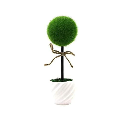 Winomo Mini plantes artificielles creuses en forme de cœur en pot pour décoration de table ou fenêtre