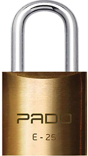 CADEADO SM LT-25MM, Pado, 51000027, Dourado