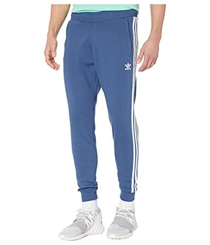 adidas Originals Pantalón de 3 rayas para hombre - Azul - X-Small