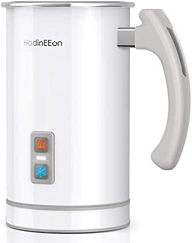 HadinEEon Milk Frother Stainless Steel 16 9oz 3 4oz Electric Milk Frothr Automatic Milk Steamer product image