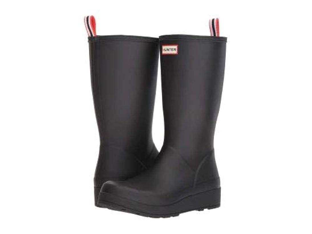 傷つきやすい飽和する勢いHUNTER(ハンター) レディース 女性用 シューズ 靴 ブーツ レインブーツ Original Play Boot Tall Rain Boots - Black [並行輸入品]