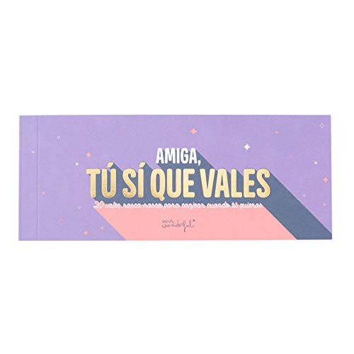 Mr. Wonderful rascar-Amiga, tu sí Que vales, Multicolor, Única