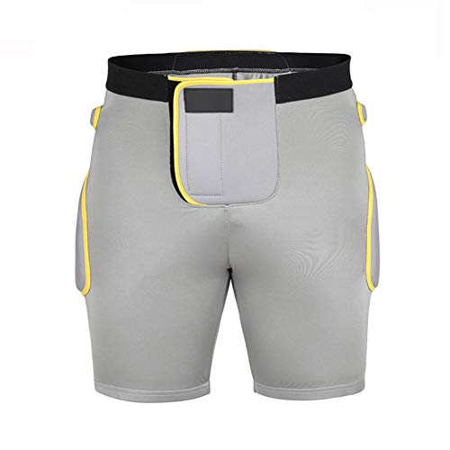 baloncesto f/útbol ciclismo y deportes de contacto hockey dgyao 3d los hombres de compresi/ón acolchado pantalones cortos pantalones cortos de protecci/ón mejor para snowboard