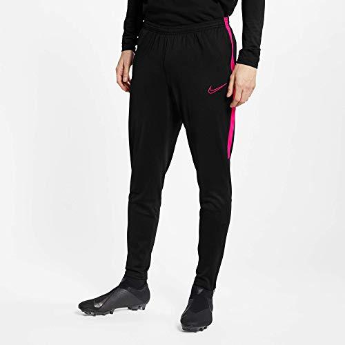 Nike Herren M NK Dry ACDMY Pant KPZ Sport Trousers, Black/Hyper pink/(Hyper pink), S