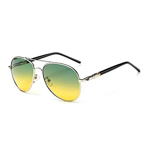nobrand Wunderbares und doch praktisches Geschenk Polarisieren Outdoor Sportbrille Gläser UV400 Schutz Driving Brillen Herren-Sonnenbrillen (Color : 6, Size : Polarized Lens)