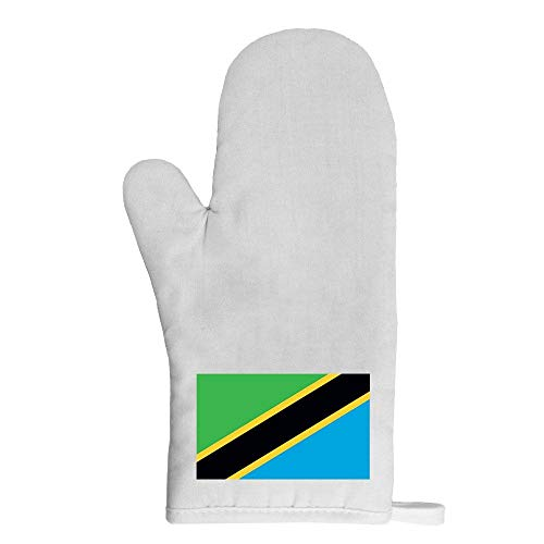 Mygoodprice Ofenhandschuh Topflappen Flagge Tansania
