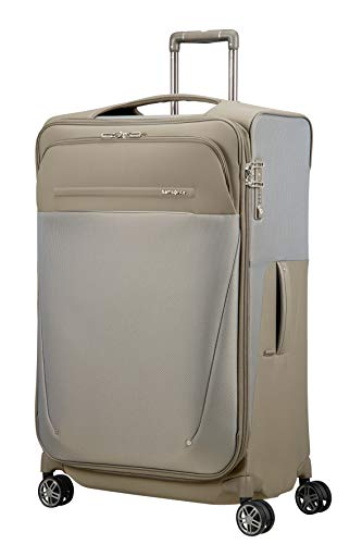 SAMSONITE B-Lite Icon - Spinner 78/31 Expandable, 107.5 L, 2.9 KG Hand Luggage, 78 cm, 117.5 liters, Beige (Dark Sand)