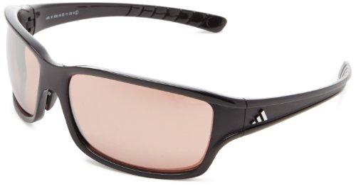 Adidas - Gafas de sol deporte para montañismo y deportes outdoor 'swift solo' lst active silver. unisex, talla l, color negro