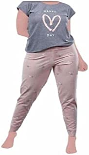 Casual summer pajamas for women - 2725612281729