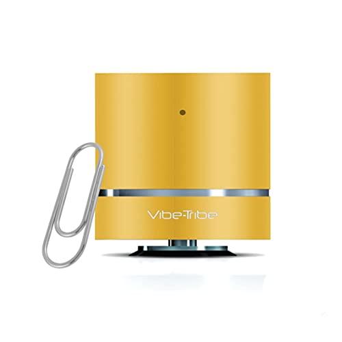 Vibe-Tribe - Troll Mini Lemon Yellow: The Ultracompact Vibration Speaker