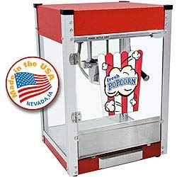 Why Choose MISC Red 4-oz Popcorn Machine Glass