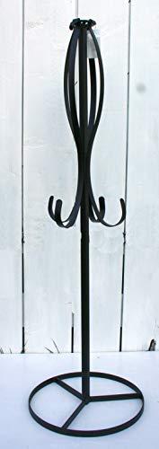 FRI-Collection Kranzhalter Kranzständer Ständer Metall schwarz 120 cm