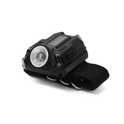 Portable Wrist Light Led Watch Flashlight Flashlight Usb Charging Wrist Model Tactical Rechargeable Flashlight