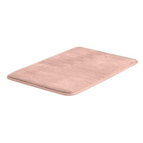 Mdsfe Memory-Badematte Anti-Rutsch-Badteppich mit stark saugfähigem maschinenwaschbarem Duschteppich Küchen-Badematte - D, a4.150X45CM