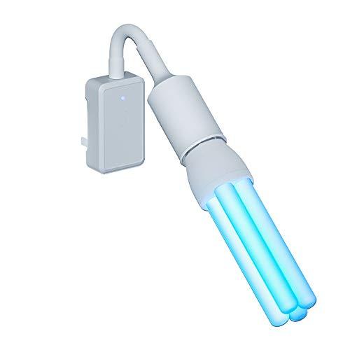 BBBSVEFK UV-lamp, sterilisator voor binnen, draagbaar, sterilisatie met afstandsbediening, wandhouder op timer, staaf
