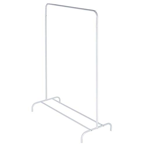 Clas Ohlson  Clothes Rack for Hanging Clothes - 154x99x44 cm Clothes Rail (White)