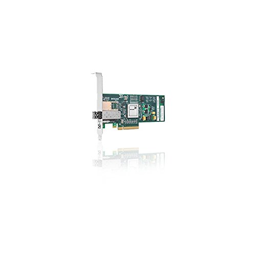 HP 81B 8Gb 1-port PCIe Fibre Channel Host Bus Adapter - Hostbus-Adapter - PCI Express 2.0 x4 / PCI Express x8 Low Profile - 8Gb Fibre Channel - für ProLiant DL165 G7, DL360 G7, DL360e Gen8, DL370 G6, DL380 G7, DL380p Gen8, SL210t Gen8