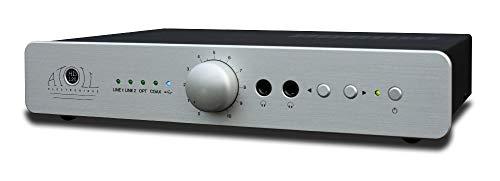 ATOLL HD 120, argento, prelivello DAC, Bluetooth, uscita cuffie, telecomando