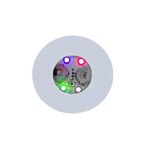 Mesa de Montura de la montaña Mini Resplandor LED Botella LED Pegatinas de Luz Festival Nightclub Bar Vase Fiesta Decoración LED Glorificador Bebida Taza Mat 3 Modos (Color : Colorful)