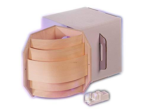Sauna Eckleuchte