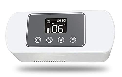 CGOLDENWALL 175 x 60 x 28 mm Caja Refrigerada Insulina 2 – 25 ℃ Termostato Interferón Reefer Refrigeradores de Coche Portátil Enfriador o Viaje Hogar Coche (12 – 15 horas)