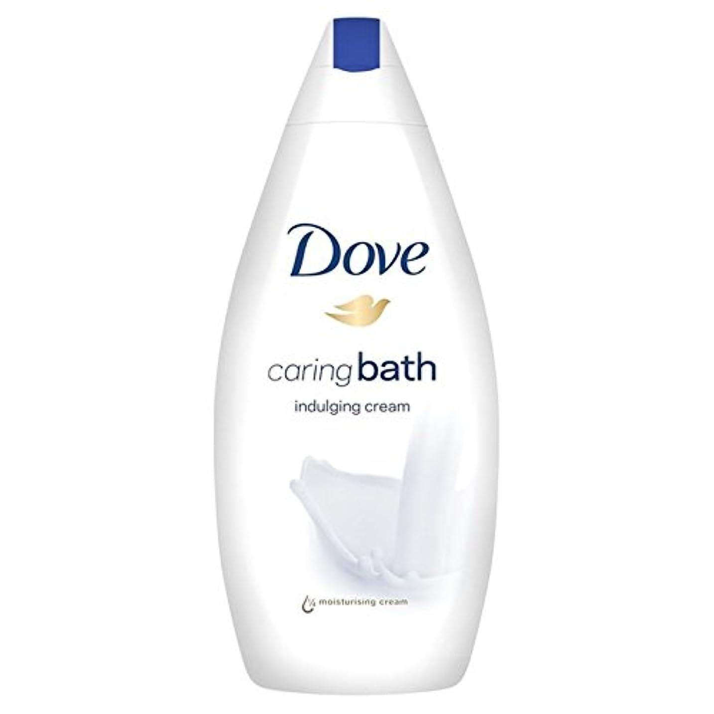 沼地黒人相反する思いやりのバス500ミリリットルをふける鳩 x2 - Dove Indulging Caring Bath 500ml (Pack of 2) [並行輸入品]