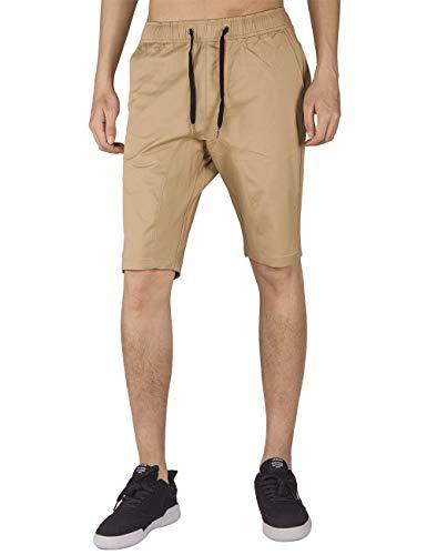 ITALY MORN Pantalones Cortos Hombre Ropa Verano Running Jogging Deporte Shorts M Caqui