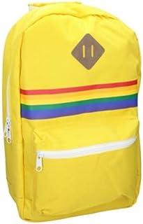 Yellow & Rainbow Backpack