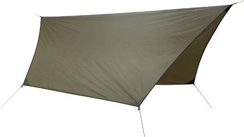 Hennessy Hex Rainfly 70D Polyester for Hammock Coyote Brown
