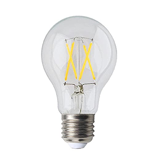 Led Bombillalámpara De Filamento Led Lámpara De Bombilla De Vidrio Corriente Constante Sin Iluminación Parpadeante-2700K_6W