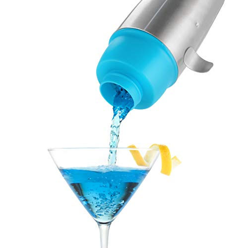 Humphrey: Wal Edelstahl und Silikon 16Oz Cocktail Shaker