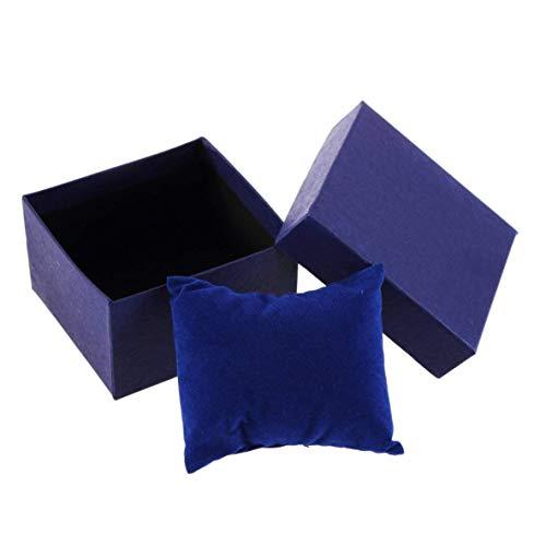 XIANGAI Montre boîte Classique Actuelle Affichage de Cas Cadeau de Stockage Organisateur for Bracelet Boucles d'oreilles Bijoux