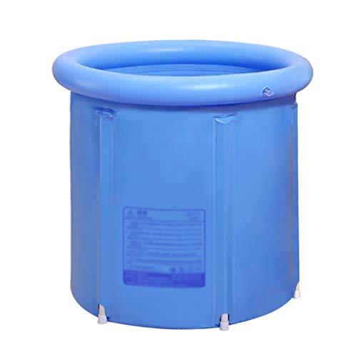 GWM Tragbare Erwachsener verdickte Badebottich, aufblasbarer Pool Faltbare Wanne verdickte Anti-rutschig Pool (Size : S)