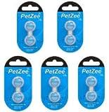 PETZEE 10 Pcs RFA-188 Pet Collar Safe Compatible Battery RFA-188 Replacement Batteries Model 2020 10P