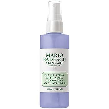 Mario Badescu Facial Spray with Aloe, Chamomile and Lavender 4 oz Spray