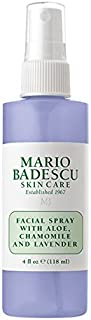 Mario Badescu Facial Spray with Aloe, Chamomile and Lavender, 4 Fl Oz