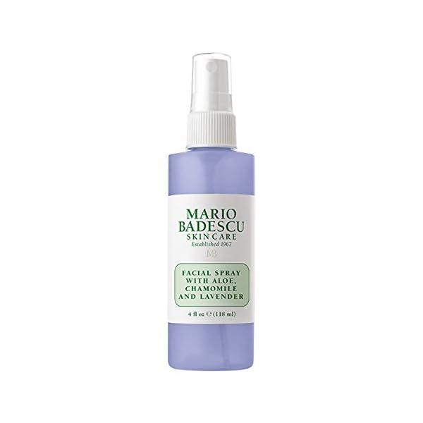 Beauty Shopping Mario Badescu Spritz Mist and Glow Facial Spray Collection Trio, Lavender, Cucumber,