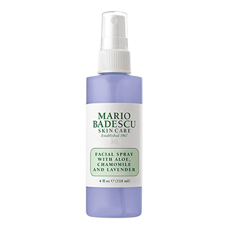 移行するテンポオデュッセウスマリオ バデスク Facial Spray With Aloe, Chamomile & Lavender 118ml/4oz並行輸入品